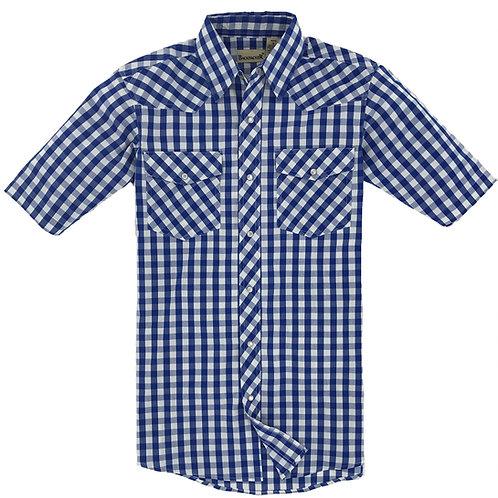 Big Sky Western Shirt - French Blue
