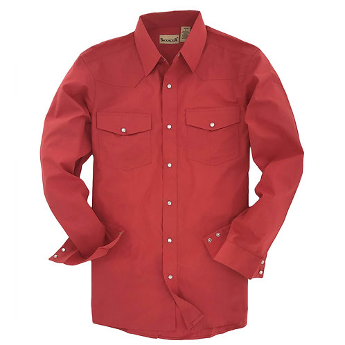 Outback Western Shirt - Coral