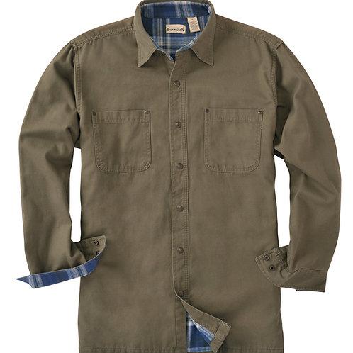 Great Outdoors Shirt Jac - Moss