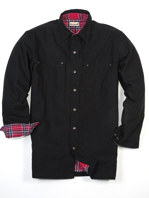 Great Outdoors Shirt Jac - Black