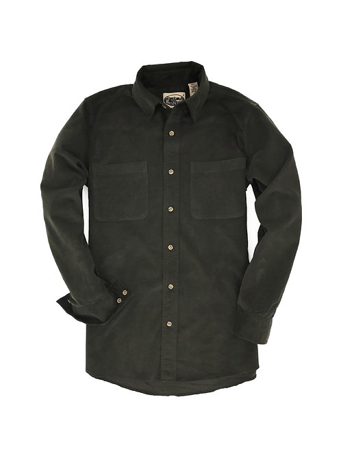 Cliff Walk Coruroy Shirt- Olive