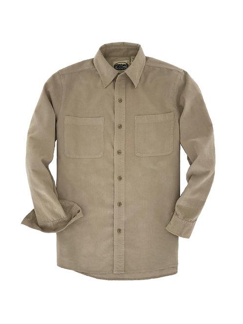 Cliff Walk Coruroy Shirt- Tan