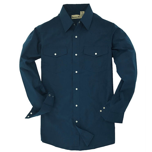 Outback Western Shirt -Teal