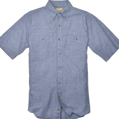 Slub Chambray Shirt - Cadet