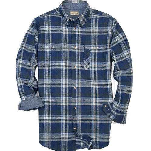 Explorer Flannel - Blue Green