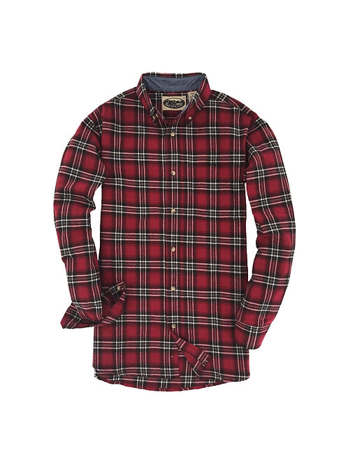 Penobscot Bay Flannel - Red