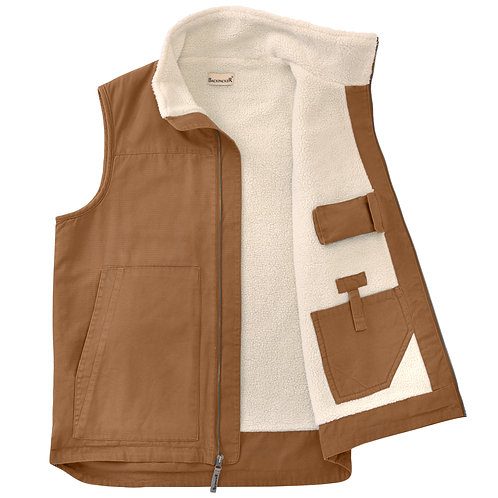 Conceal Carry Vest - Brown