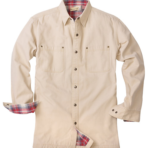 Great Outdoors Shirt Jac - Stone