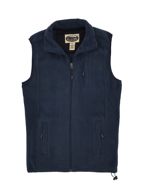 Sedona Trail Polar Fleece Vest - Navy