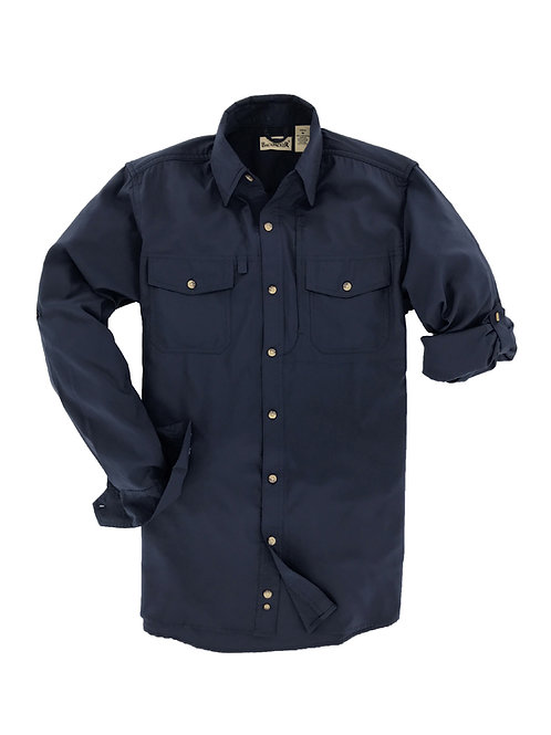 Expedition Travel Shirt - Navy