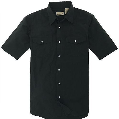 Outback Western Shirt -Black