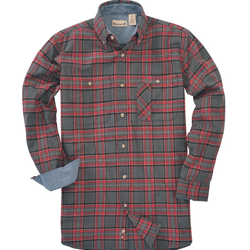 Explorer Flannel - Red Grey