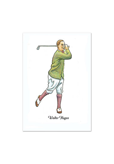 'Golfing Greats' Series of 8 (blank inside)