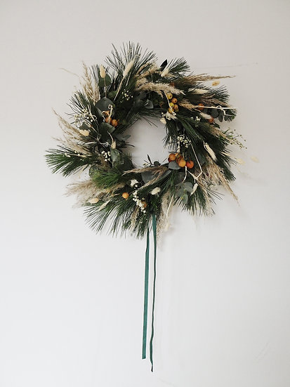 Dried and Fresh Wreath