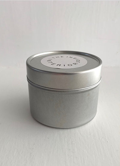 WOOD Tin Soy Wax Candle