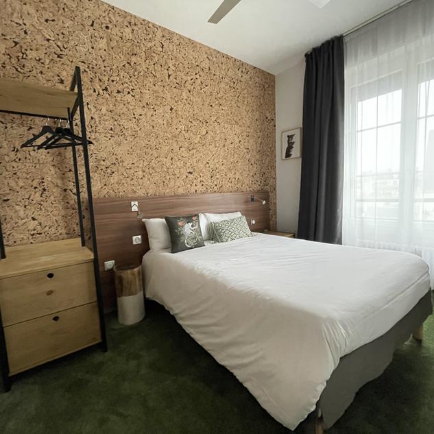 Urban Jungle Hotel Orleans - Chambre Standard WOOD