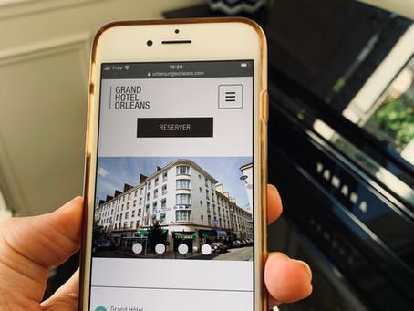 Le nouveau site du Grand Hôtel à Orléans