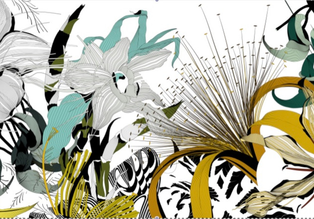 "Oeuvre ""Urban Jungle"" de Rodolphe Barsikian"