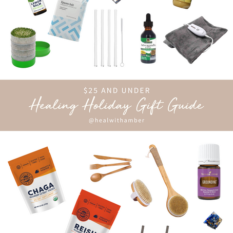 Healing Holiday Gift Guide: 25 Under $25