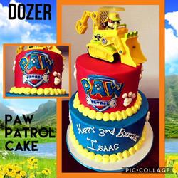 Dozer Cake