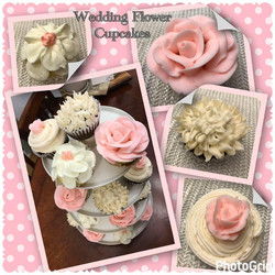 Buttercream Flowers Cupcackes