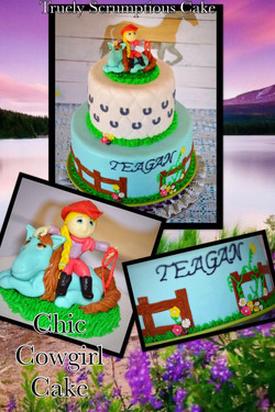 Cowgirl Chic Cake