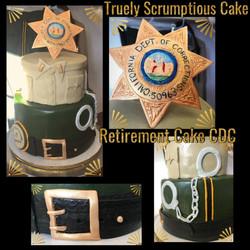 CDC Retirement Cake