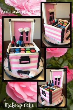Make-Up Case Cake