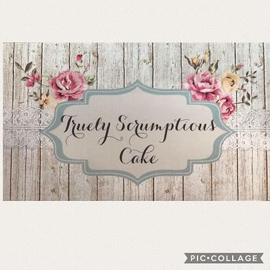 Truely Scrumptious Cake Logo