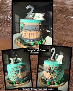 Jeep Mud Cake