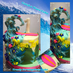 Catching A Wave Cake