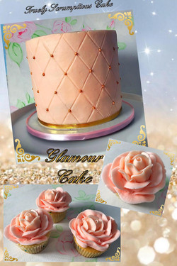 Glamour Cake and Cupcakes