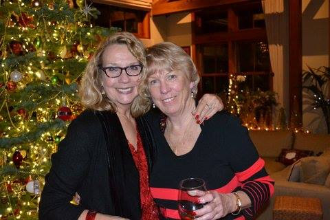 Denise and Valerie Hulsey @ the Holiday Social