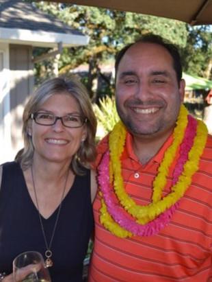 Ann Peters and Adam Reyes