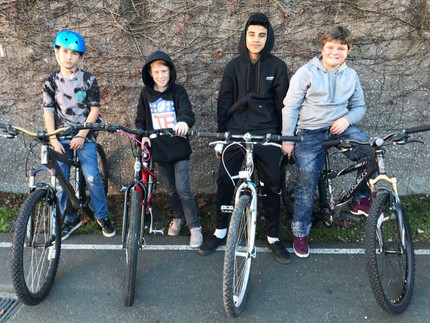 Teen Center-Operation Bicycle Adrian Palenchar