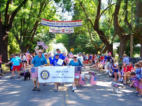 Kenwood July 4th Parade