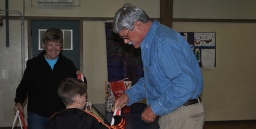 Our Dunbar Backpack Program Don and Beth