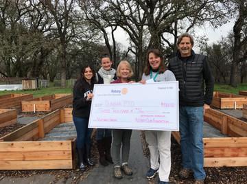 Fire funds to Dunbar Garden Project