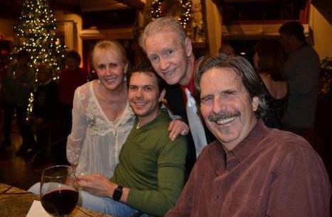 Mary, Orion, John and Barney