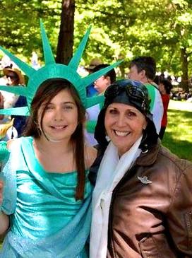 Lulu and Mary @ Kenwood Plaza Park, July 4th