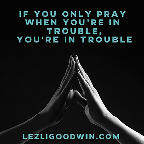 The Blog_ If You Only Pray When You're i