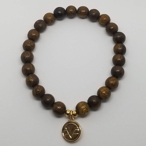 Science of Mind Beaded Bracelet in Robles Wood