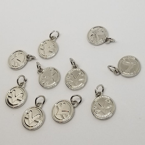 Package of Ten 12mm Science of Mind Charms