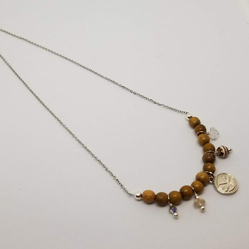 Charmed Science of Mind Necklace in Robles Wood