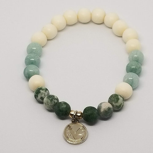 Abundance & Healing Science of Mind Beaded Bracelet