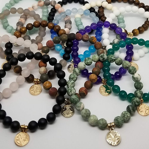 Mixed Package of 10 Science of Mind Beaded Bracelets