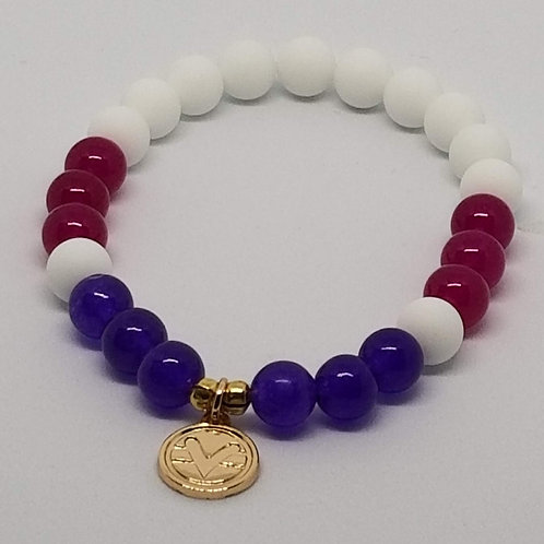 Joy & Harmony Science of Mind Beaded Bracelet