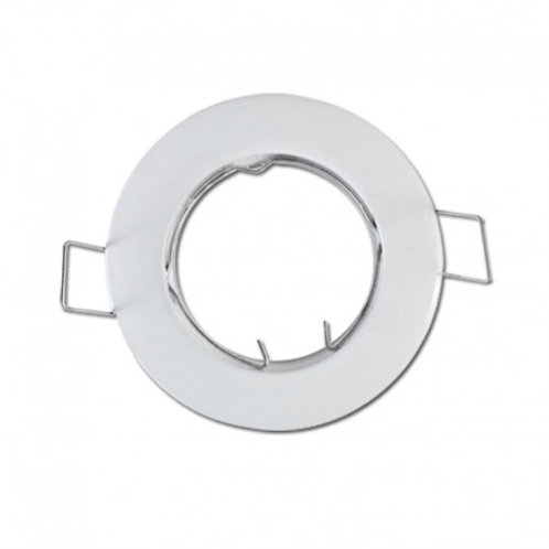 VISION-EL SUPPORT FIXE  ROND BLANC Ø77 MM