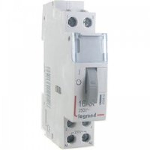 Legrand 412412 - Télérupteur CX3 - VIS - Bipolaire 16A - 230V
