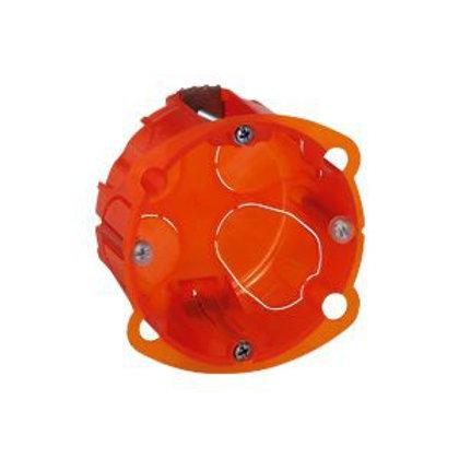 LEGRAND 080101 BOÎTE MONOPOSTE  BATIBOX MULTIMATERIAUX - PROF. 40 MM